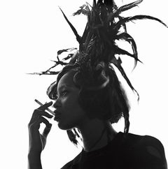 Naomi Campbell, Vogue Italia II - portrait of the supermodel