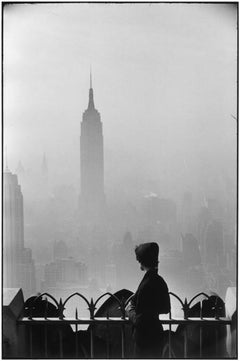 New York City, 1955 - Black and White Photography