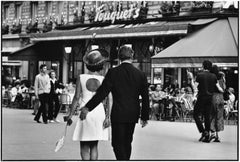 Paris, 1970 - Black and White Photography