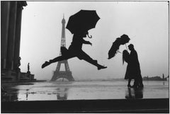 Paris, 1989 - Black and White Photography
