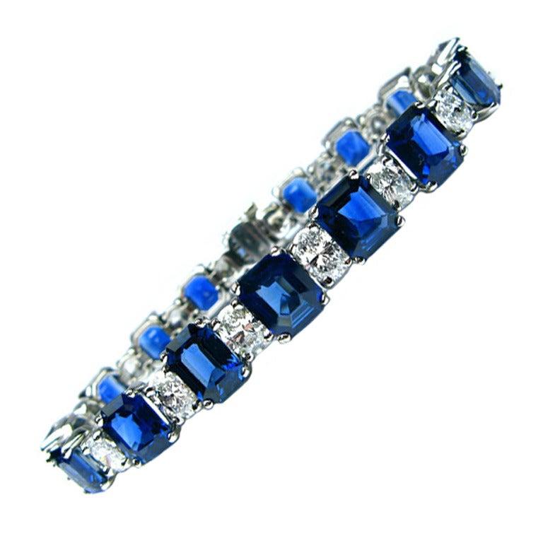 ForgetMeNot by Harry Winston Diamond Bracelet