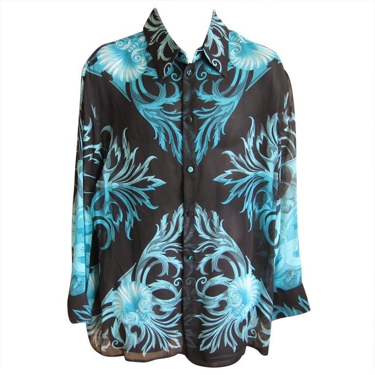 Versace shirt  Etsy