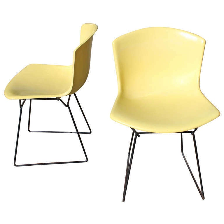 Harry Bertoia for Knoll Shell chairs, 1965