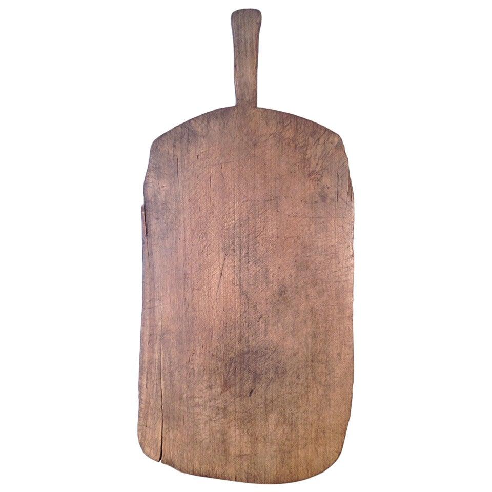 French cutting board, ca. 1880