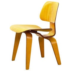 Early DCW Chair by Charles and Ray Eames