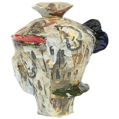 Translated Ceramic Vase 2 from Korean-American David T. Kim