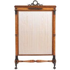 19th Century French Empire Fire Screen