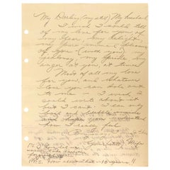 Elizabeth Taylor genuine handwritten love letter to Richard Burton
