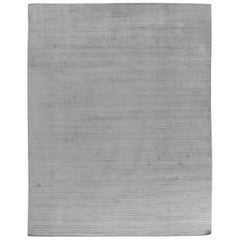High Low Contemporary Ivory Rug