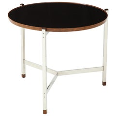 Edward Wormley Occasional Table in Chrome and Micarta