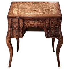 Inlaid Desk Early 20th Century