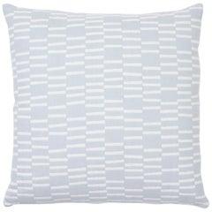 Schumacher Caroline Hurley Cedar Tree Neck Sky Two-Sided Cotton Linen Pillow