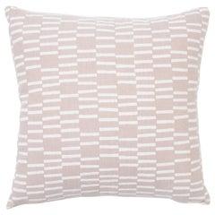 Schumacher Caroline Hurley Cedar Tree Neck Clay Two-Sided Cotton Linen Pillow