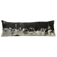 "Modern Rustic Wool ""Genesis"" Body Pillow Hand-Milled"