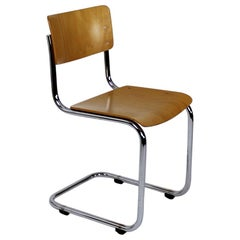 Bauhaus Classic S43 Cantilevered Chair by Mart Stam for Thonet, Germany
