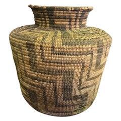 Native American Pima Tribe Hand Woven 19th Century Basket