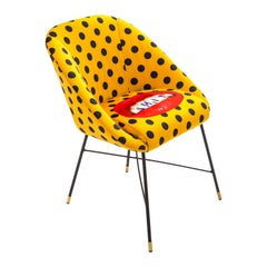 """Seletti """"Shit"""" Upholstered Occasional Chair by Toiletpaper"""