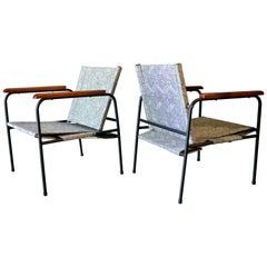 Pair of Vintage Patio Chairs, circa 1970
