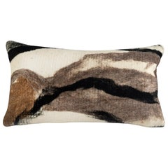 Modern Rustic Wool Pillow Hand-Milled - Heritage Sheep Collection