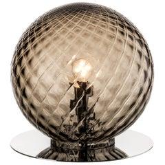 Venini Balloton Globe Table Light in Gray