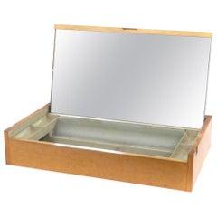 George Nelson Herman Miller Vanity 4661 Tabletop Fliptop Mid-Century Mirror