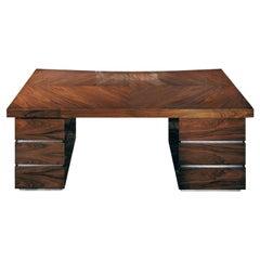 Giorgio Collection Brazilian Rosewood Desk in Satin Finish