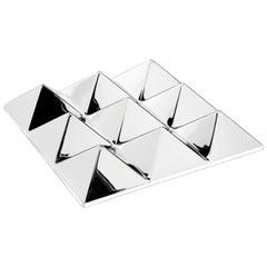 Mirror Sculpture, Nine-Pyramid Wall Hanging by Verner Panton