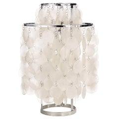 Fun 2TM Seashell Table Lamp by Verner Panton