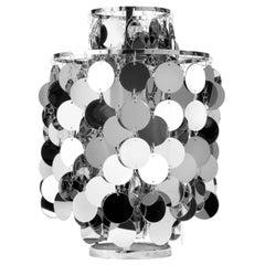 Fun 2TA Table Lamp with Metal Discs by Verner Panton