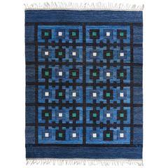 """Berit Koenig Flat-Weave Carpet, """"Tjuven I Baghdad"""", 19502"""