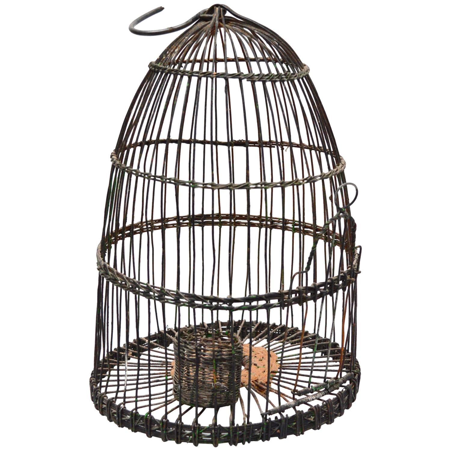 Old fashioned bird cages for sale 20