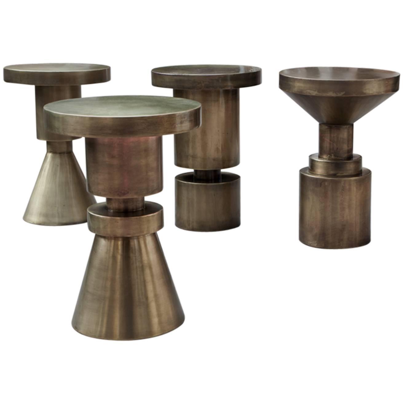 Anna Karlin chess stools, 2016