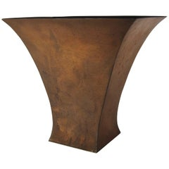 American Arts and Crafts Copper Vase by Marie Zimmermann