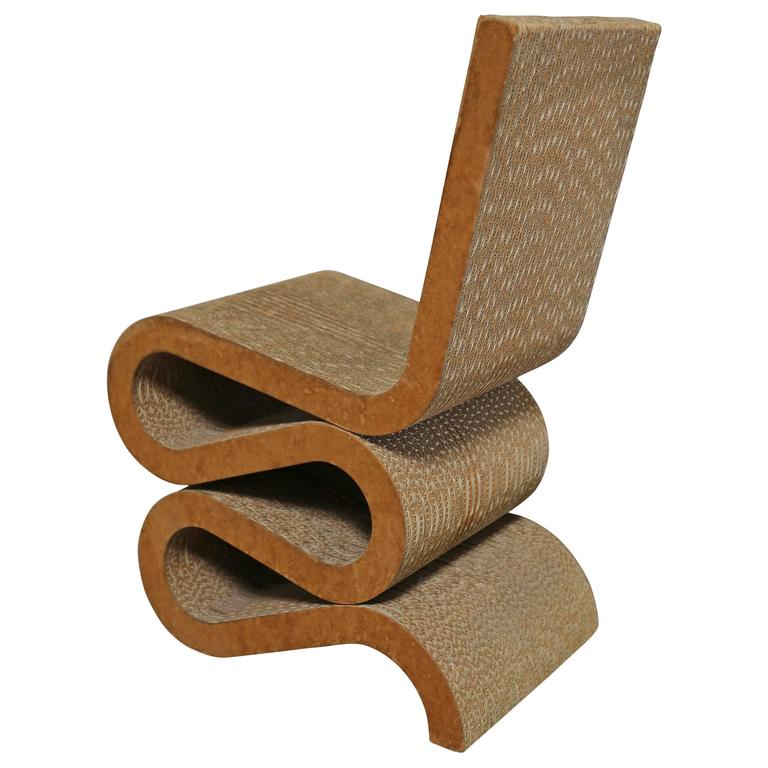 Frank Gehry Wiggle chair, ca. 1972