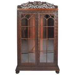 Colonial 19th Century Anglo-Indian Bookcase