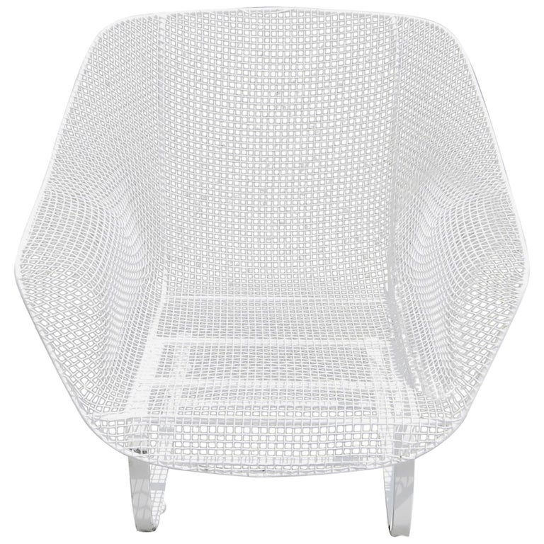 Vintage Woodard Sculptura Spring Chair For Sale At Stdibs
