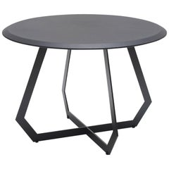 Fetish Table Black / Large, Side Table, Leather and Metal