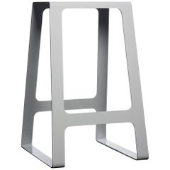 A_Stool Powder Coated Aluminum Counter Height in Signal White by Jonathan Nesci