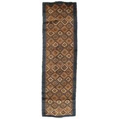 Vintage Rya Carpet, Swedish, Soft Colors, Mid-Century Modern