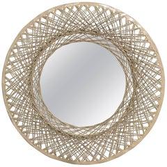 Spun Fiberglass Antique Mirror
