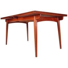 Hans Wegner for Andreas Tuck Teak Dining Table Mod. AT-312 Danish Modern, 1950s
