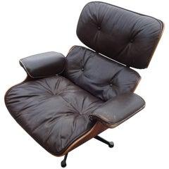 Eames Lounge Chair, Original Vitra Model 1st Generation