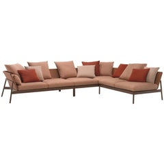 Roda Indoor or Outdoor Piperlow Sectional Designed by Rodolfo Dordoni
