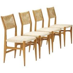 Set of Four Gio Ponti Dining Chairs