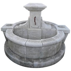 Double Faced Central Fountain