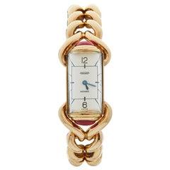 1940s Jaeger Vintage Hermes Yellow Gold 79829 Wristwatch
