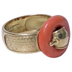 1970s Piaget 18 Karat Ring