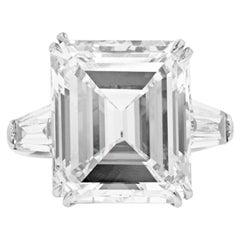 13.61 Carat GIA Certified Diamond Ring