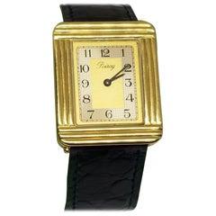 """Poiray"" of France 18 Karat Yellow Gold Watch"