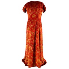 Haute Couture evening dress -attributed to- Maria Monacci Gallenga Circa 1930